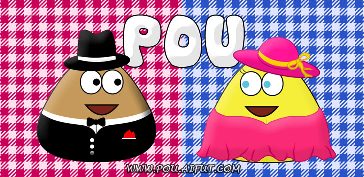 Game Pou - web logo
