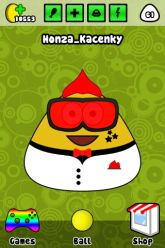 Picture of smiling Pou.